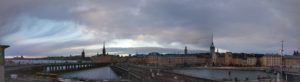 Stockholm Vinterpanorama av Ingemar Pongratz