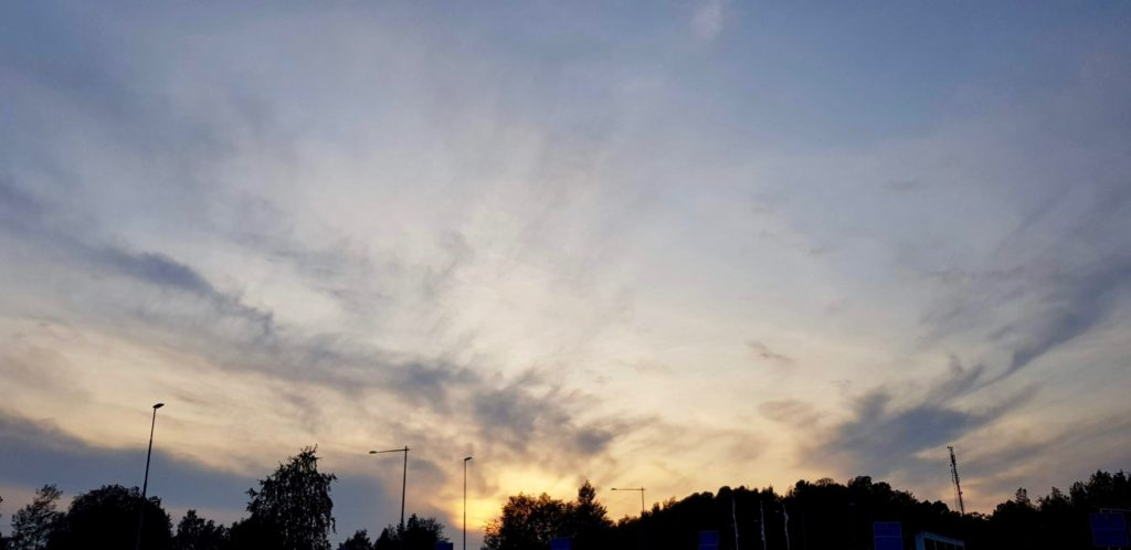Skies over Stockholm by Ingemar Pongratz