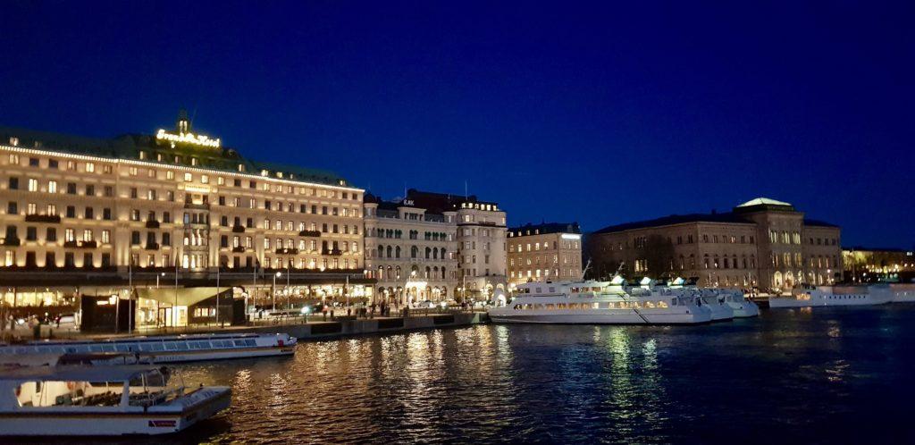 Stockholm evening by Ingemar Pongratz