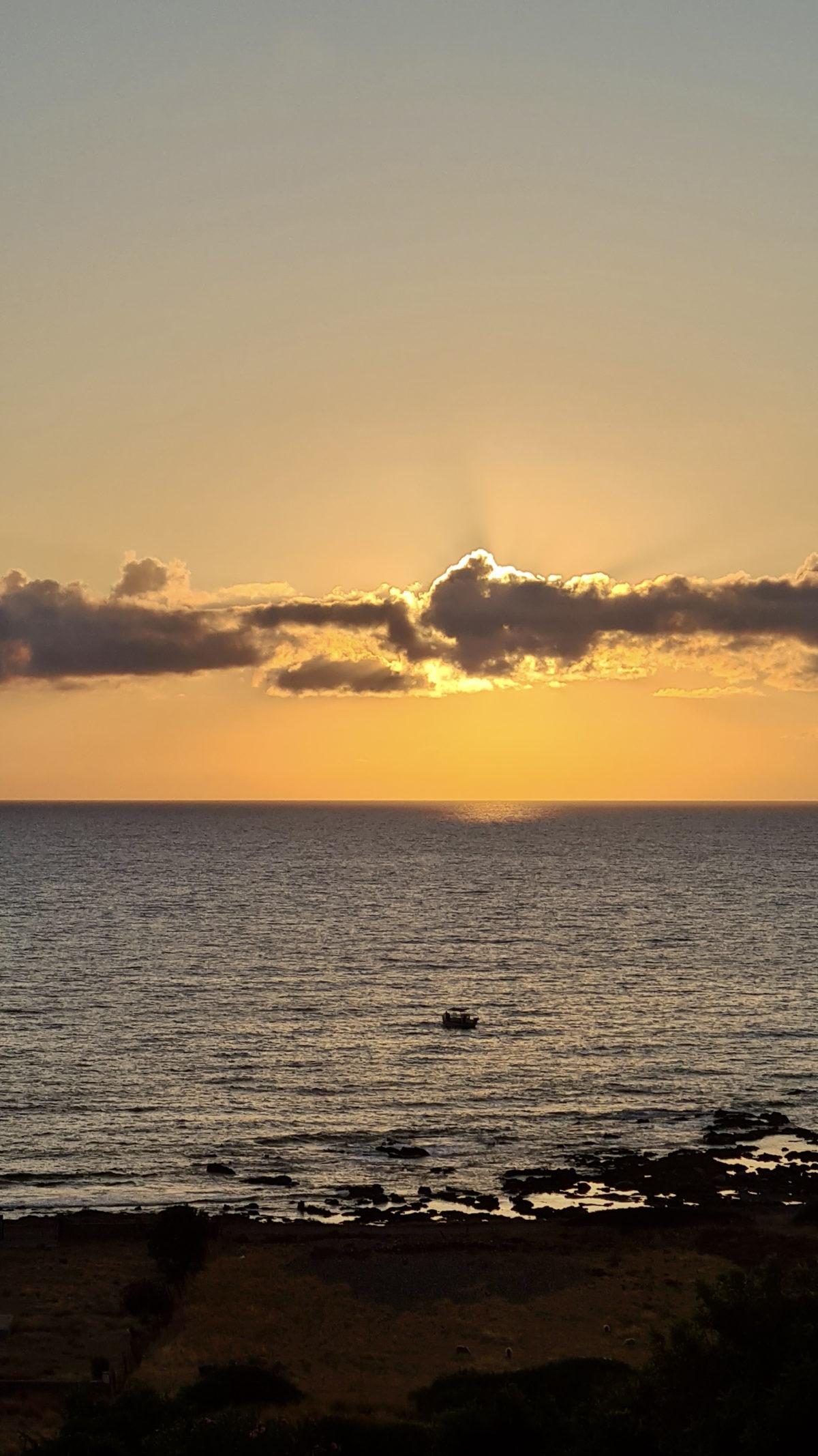Crete sunset 2021 by Ingemar Pongratz